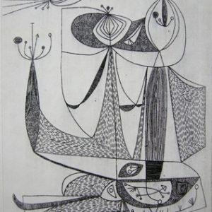 LEONARD EDMONDSON Abstraction No. 1