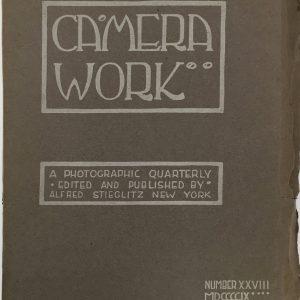 CAMERA WORK Camera Work