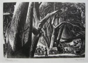 LYND WARD Clouded Over