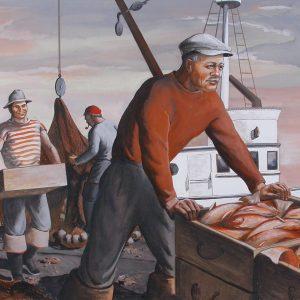 DORR BOTHWELL Fisherman on the Dock