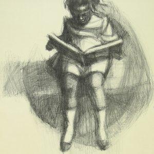 HERMAN KOFI BAILEY Girl Reading