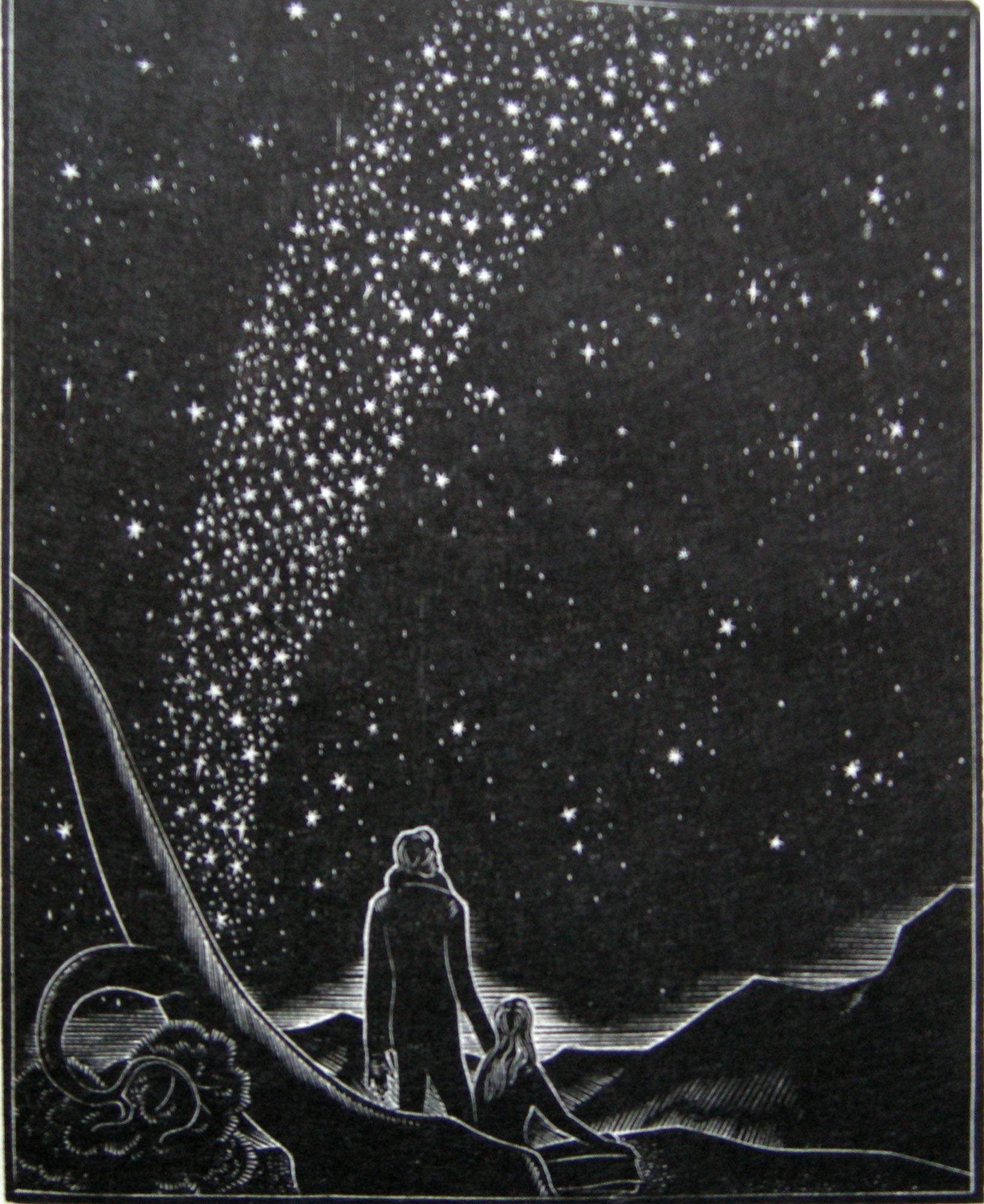 LYND WARD God's Man: The Milky Way