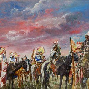 JOYCE WAHL TREIMAN Indians
