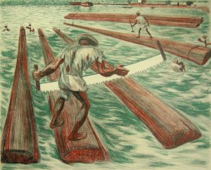 ALFREDO ZALCE Lumber Workers