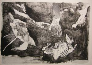 NATHAN OLIVEIRA Michelangelo's Dream