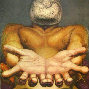 DAVID ALFARO SIQUEIROS Outstretched Hands