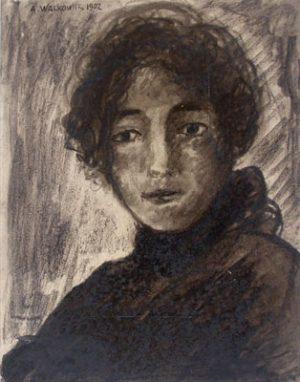 ABRAHAM WALKOWITZ Portrait of a Woman
