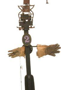 GORDON WAGNER Railroad Man  BROKEN/pieces - to M. McMillen