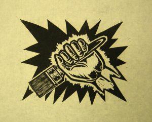 CAROL WELLS Solidarity Fist
