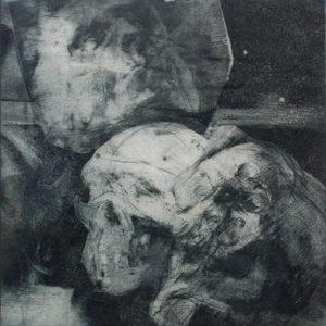 HOWARD WARSHAW Traffic Victim (Head and Skull)