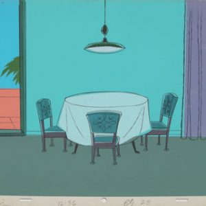 JULES ENGEL Alvin Show: Fancy (Dining Room Background)