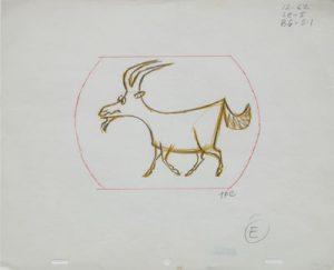 JULES ENGEL Alvin Show: Goat