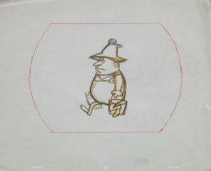 JULES ENGEL Alvin Show: Old Macdonald Carrying Pails