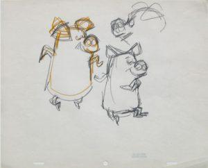 JULES ENGEL Alvin Show: Pigs (from Old Macdonald Cha Cha Cha)