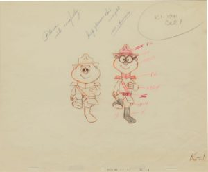 JULES ENGEL Alvin Show: Rangers Simon and Theodore (from Clementine)