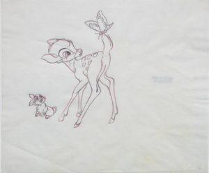 JULES ENGEL ESTATE Bambi and Thumper