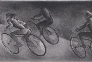 MINA PULSIFER Bicyclists (Night Riders)