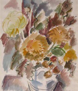 GRACE CLEMENTS Vase of Flowers