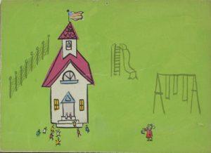 JULES ENGEL Gerald McBoing-Boing: School Yard