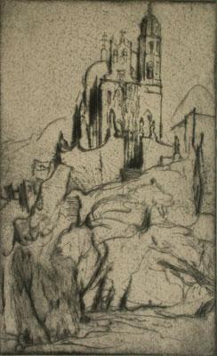 MAX POLLAK Marfil (Church on the Hill)