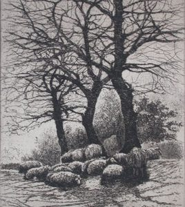 BERTHA CLAUSON JAQUES On Hampstead Heath - London