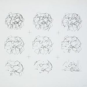 JULES ENGEL Shapes and Gestures (Sequential Drawings)