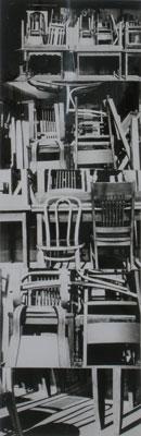 JULES ENGEL Stacked Chairs: Coaraze