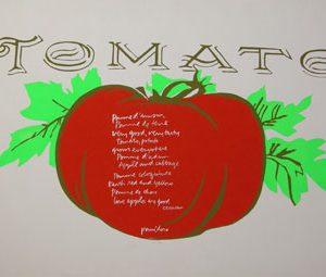 MARY CORITA KENT Tomato