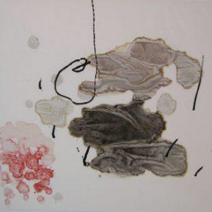 JOAN MIRO Trace sur l'eau-Suite d'aquarelles
